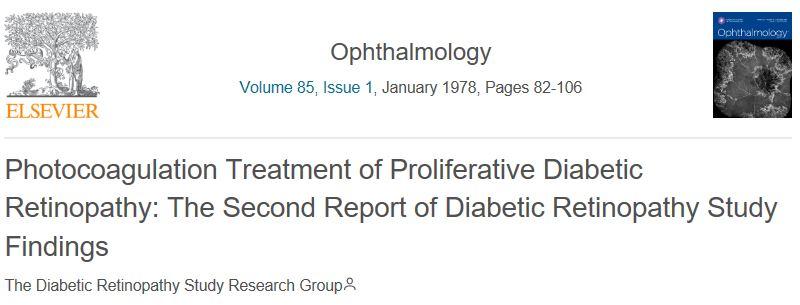 Diabetic Retinopathy Study