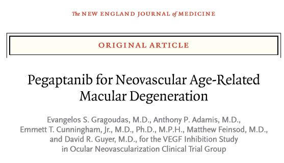 Pegaptanib for neovascular age-related macular degeneration